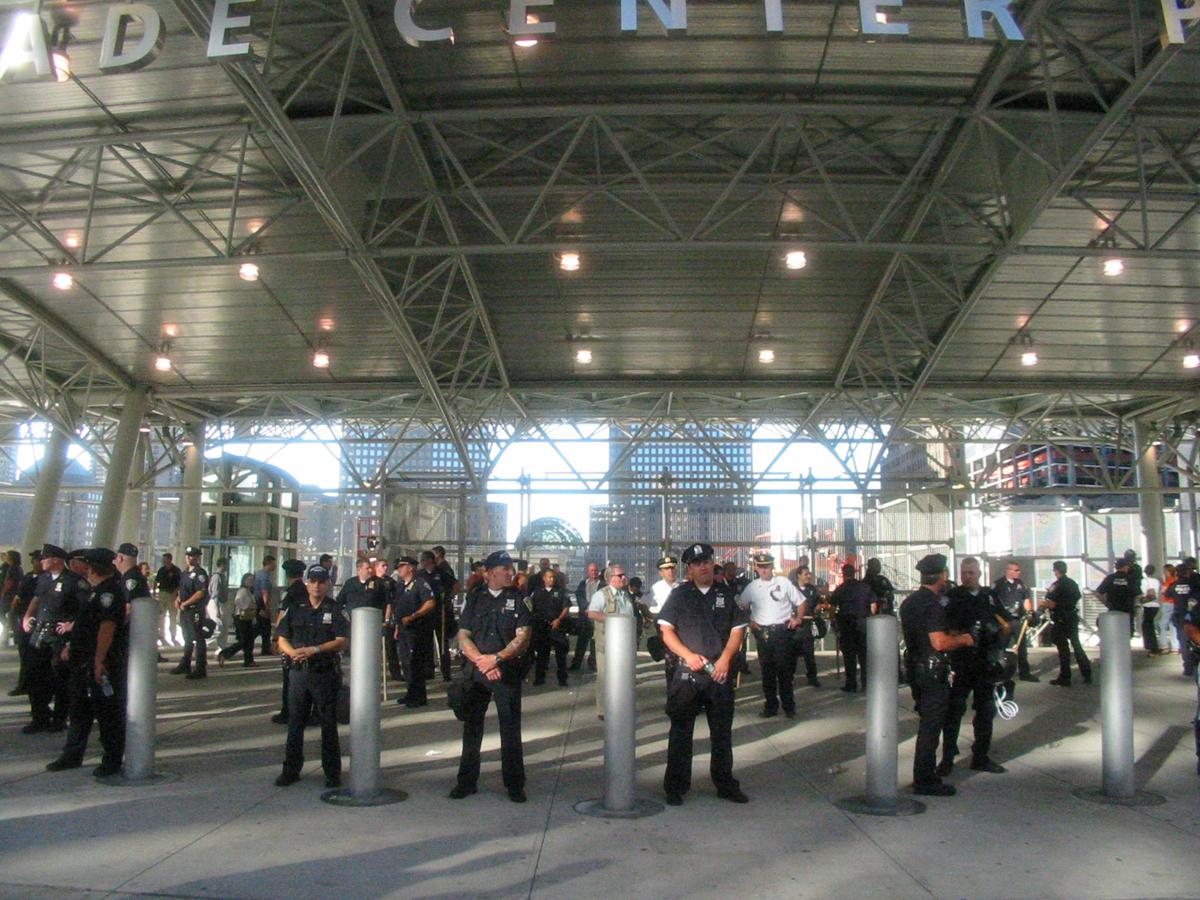 World Trade Center Path Station, Greenwich Street, New York City
