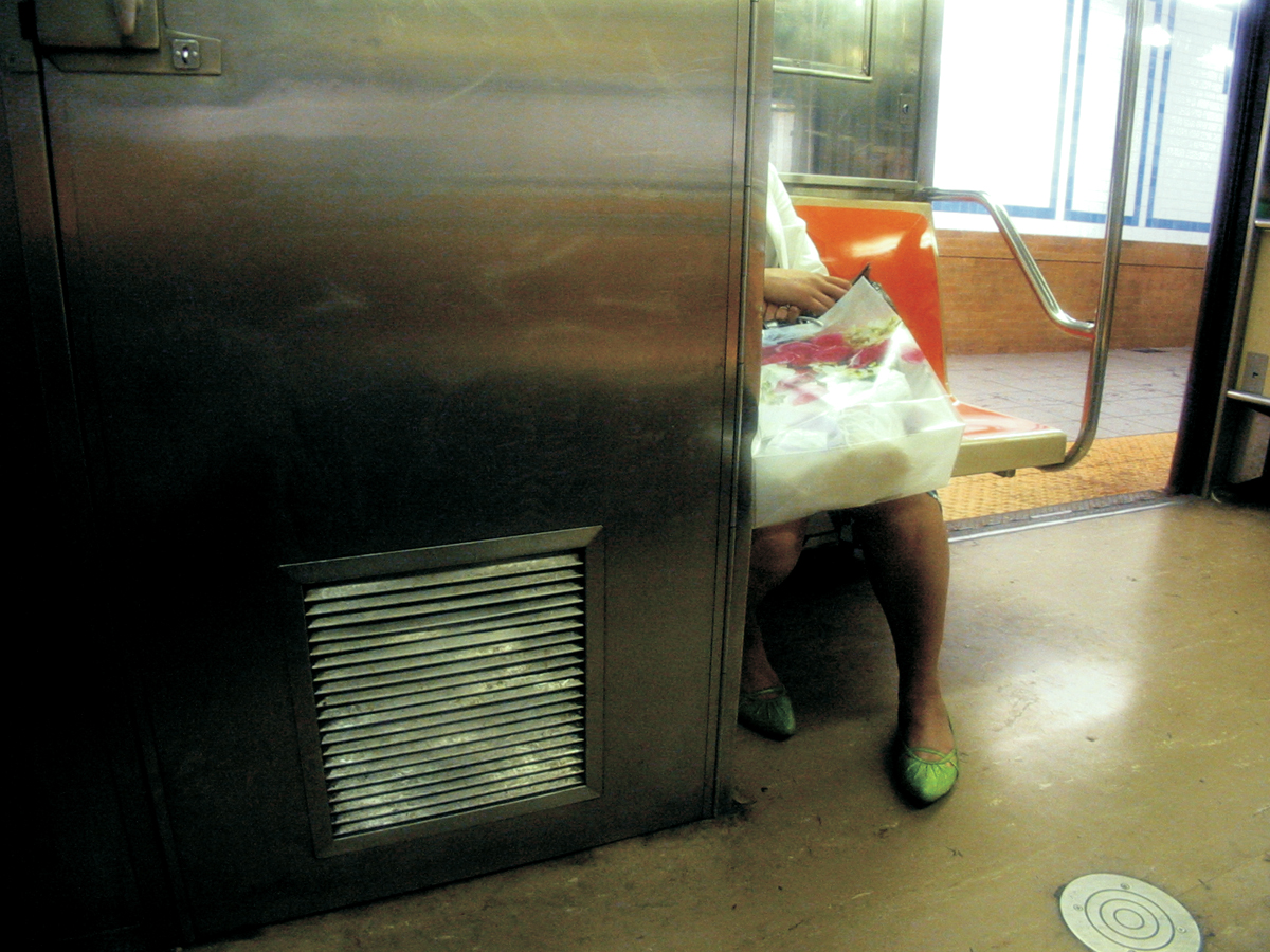 Green Shoes, N Train, New York City
