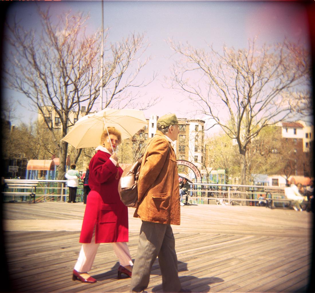 Brighton Beach Boardwalk, Brooklyn New York