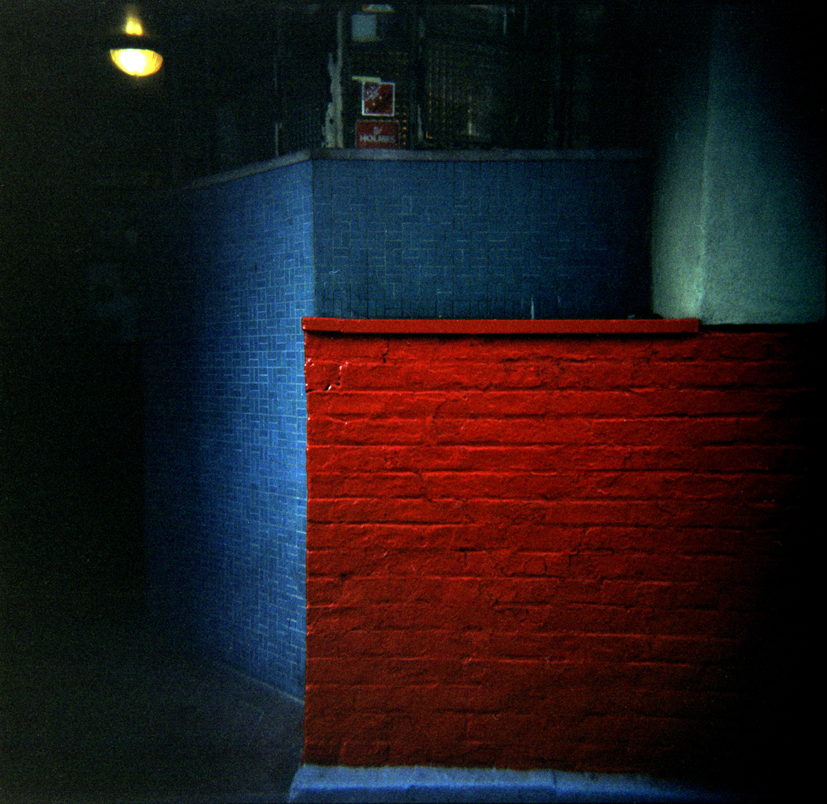 Color Study, Cornelia Street, New York City