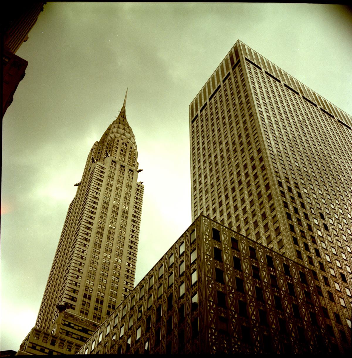 Chrysler Building, 42nd Street New York City