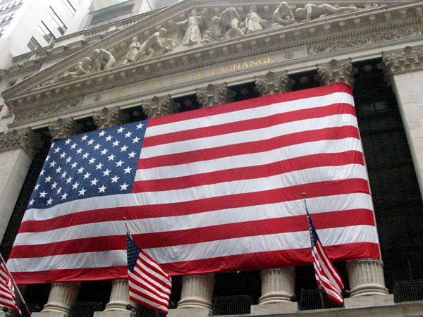 Biggest Flag Ever (NYSE), September 2001, New York, NY