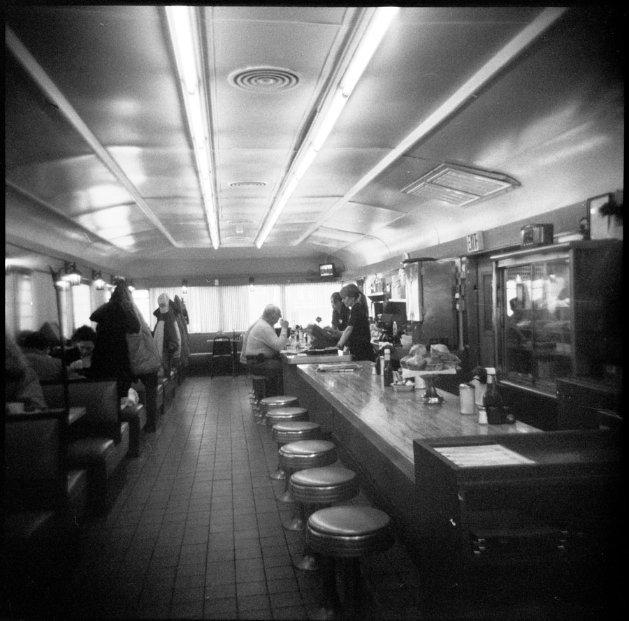 Old Hudson Diner, Warren Street, Hudson New York