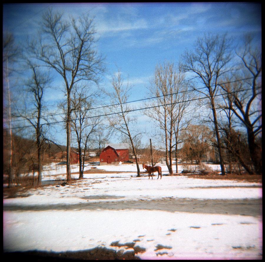 Outside of Catskill NY