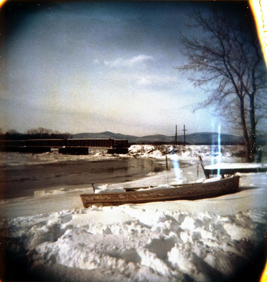 Abandoned Boat, Roeliff Jansen Kill, Germantown, NY