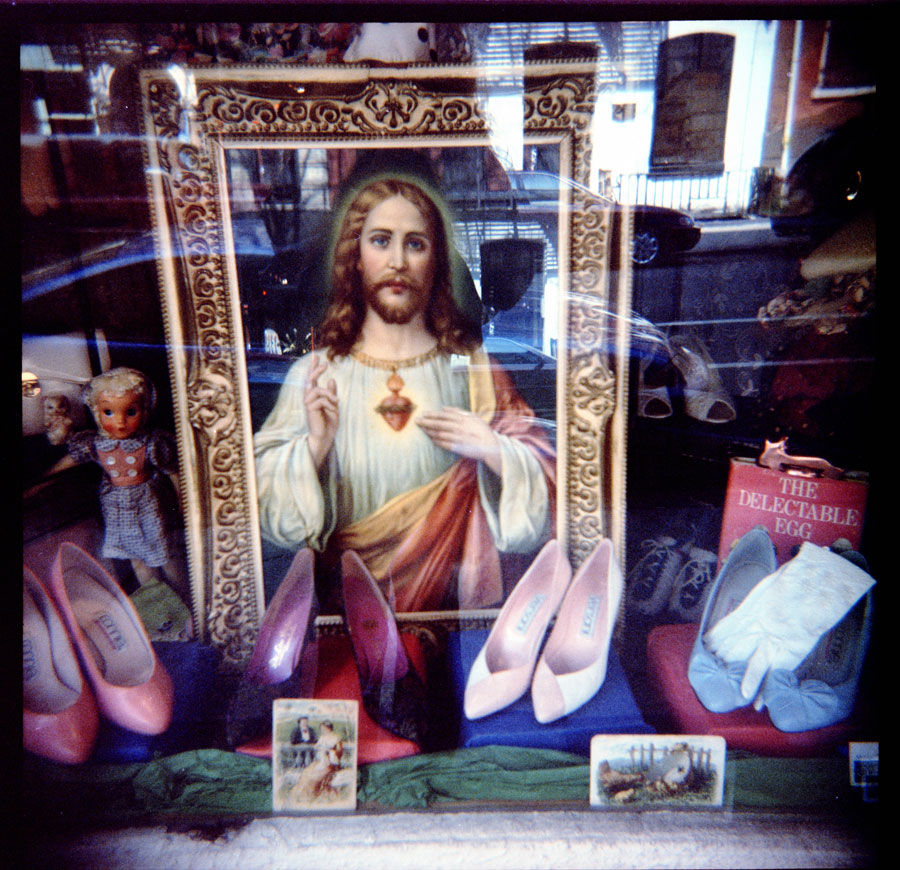 Jesus and Shoes, East Village, New York City