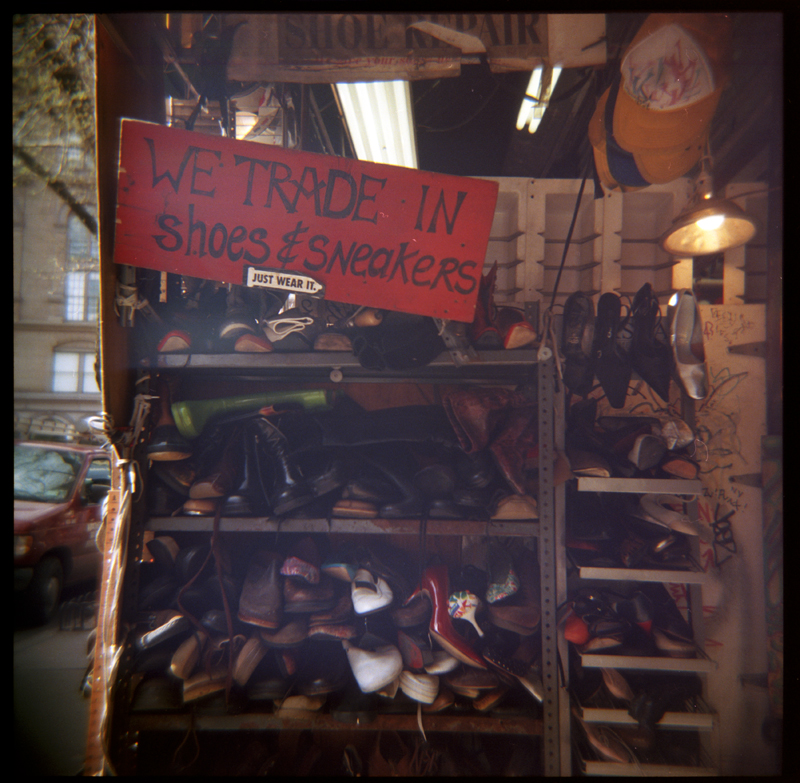 Shoes, St Marks Street, New York City