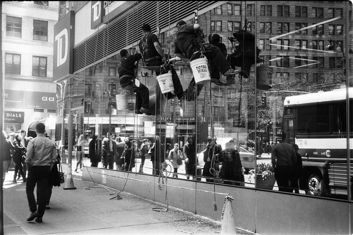 Window Washers | W. 32nd Street, New York, NY