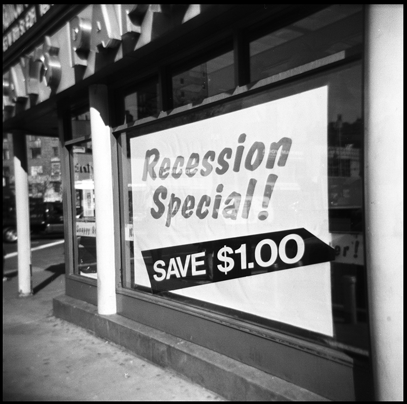 Recession Special! | West Village, New York City