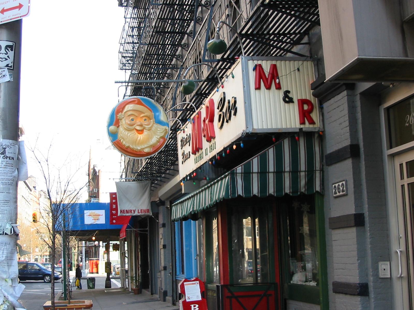 M&R Bar, 356 Bowery, New York City