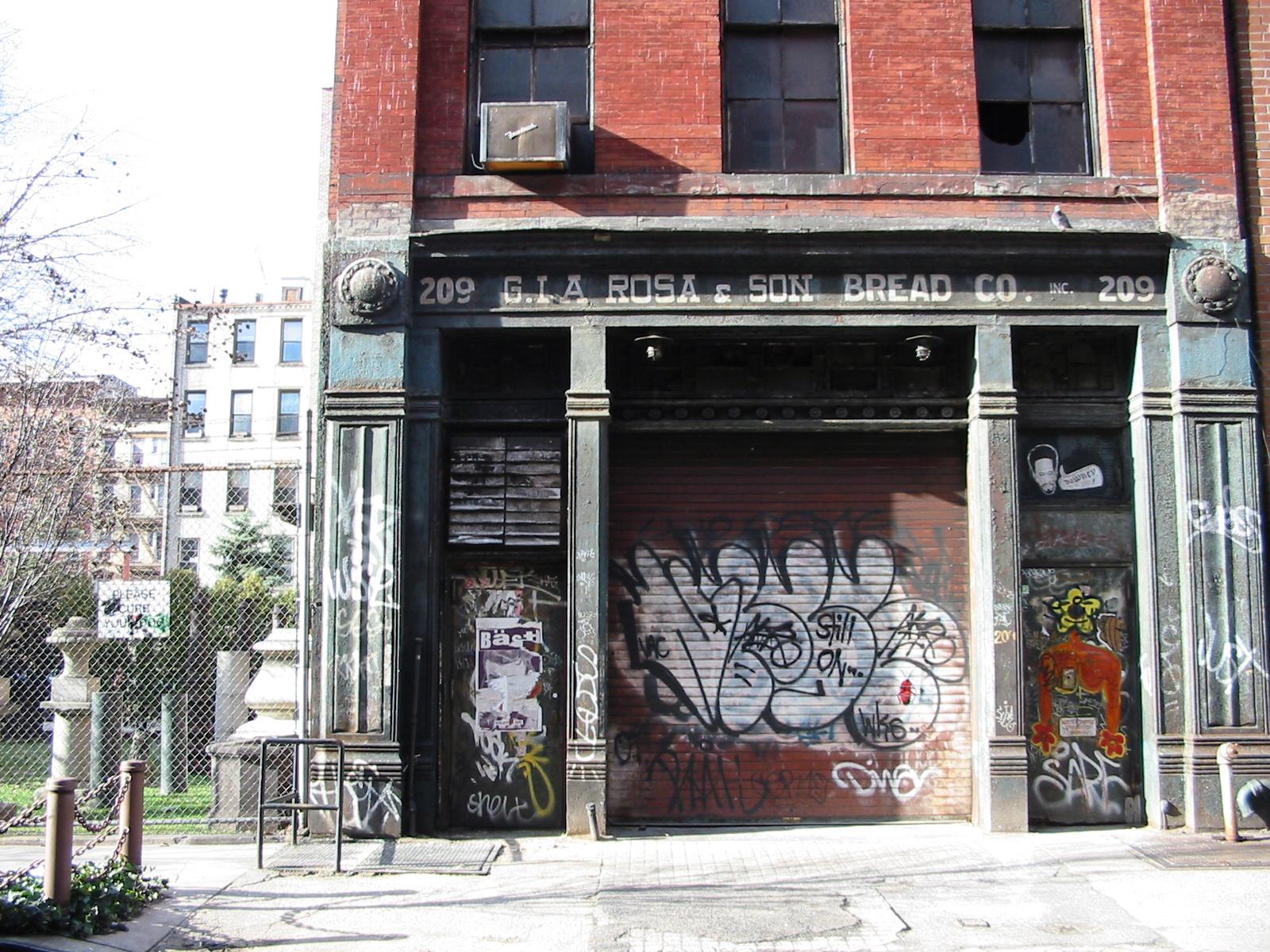 G. La Rosa & Son Bread Co, Elizabeth Street, New York City