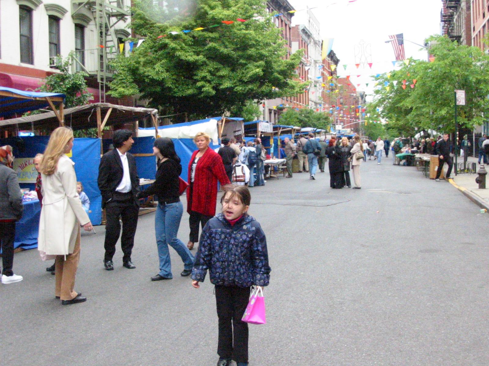 St. George Ukrainian Festival, E. 7th Street, New York City