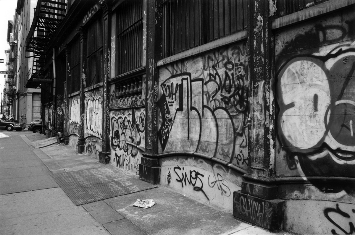 Corner of Canal & Mercer, New York City
