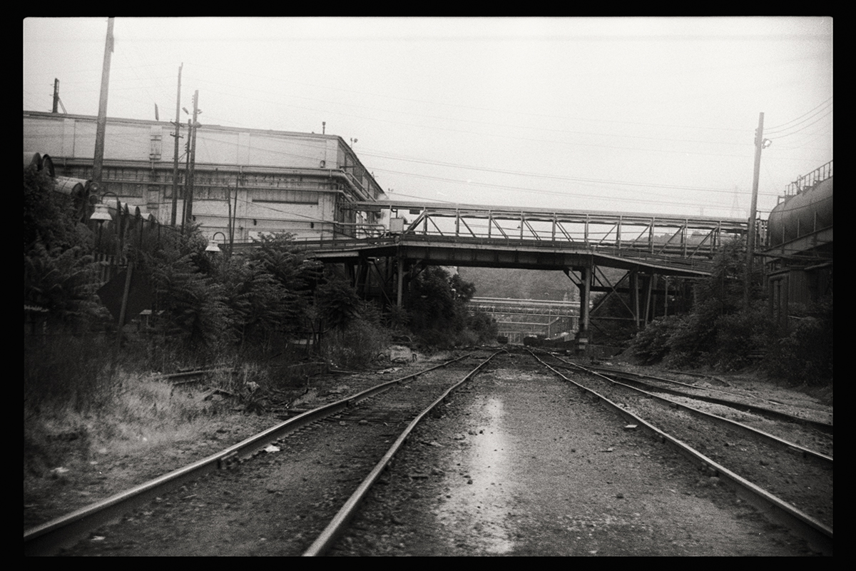 Factory Tracks | Weirton, West Virginia