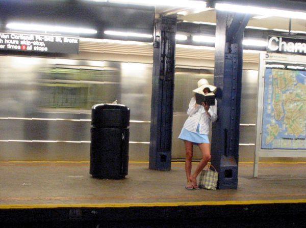 Transport: Waiting on a Train | Chambers Street Subway Station, New York City
