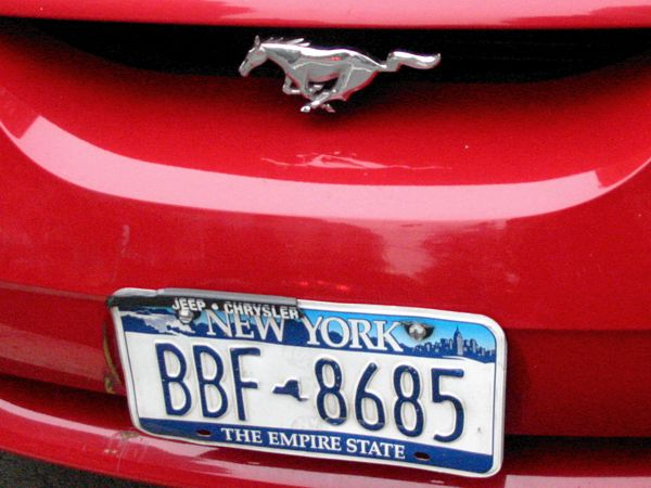 Numbers: Mustang Sally | East Village, New York City