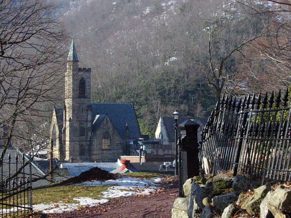 View of the Church | Jim Thorpe, PA