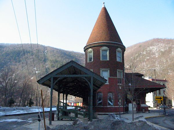The old way out. Train Station | Jim Thorpe, PA