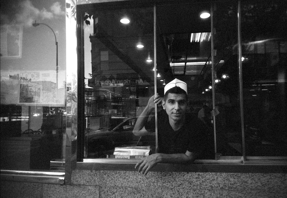 Corner of E. Houston & Orchard Streets, New York NY camera: Slim Devil 35m, Holga 400 film