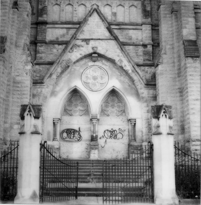 Dogma Church Doors 130 Larimer Ave. Pittsburgh PA