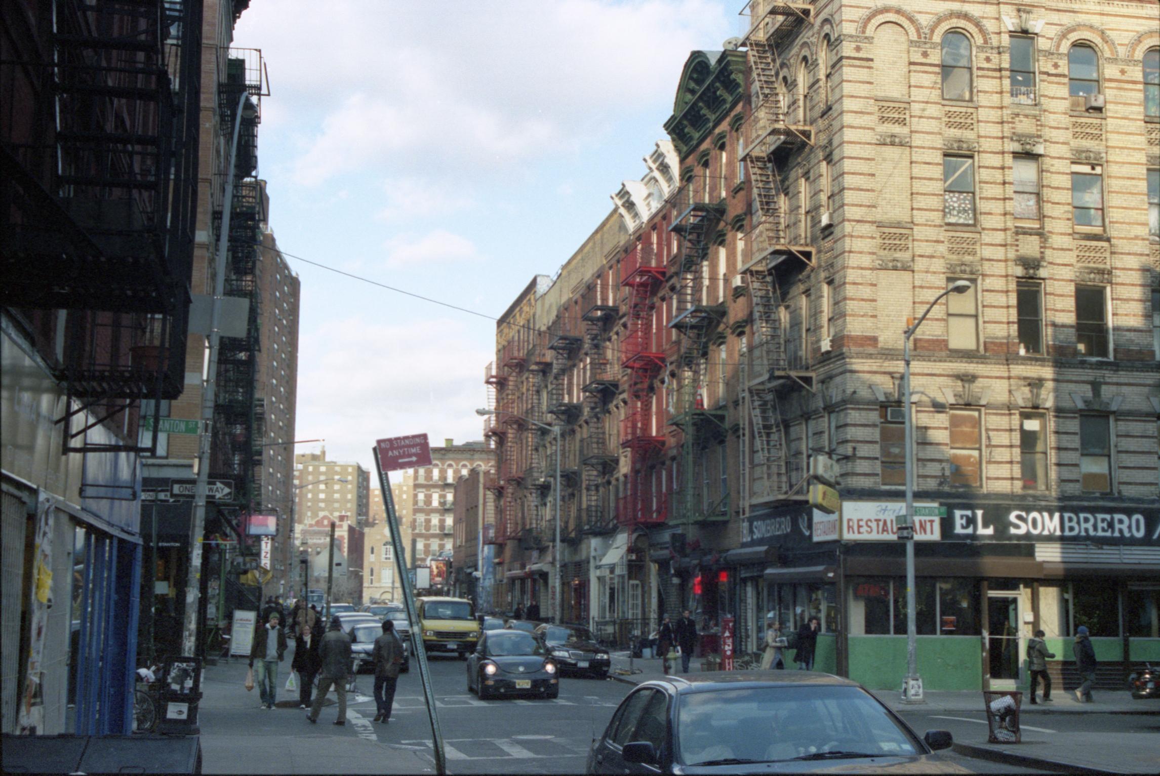 Stanton and Ludlow Streets, New York, NY