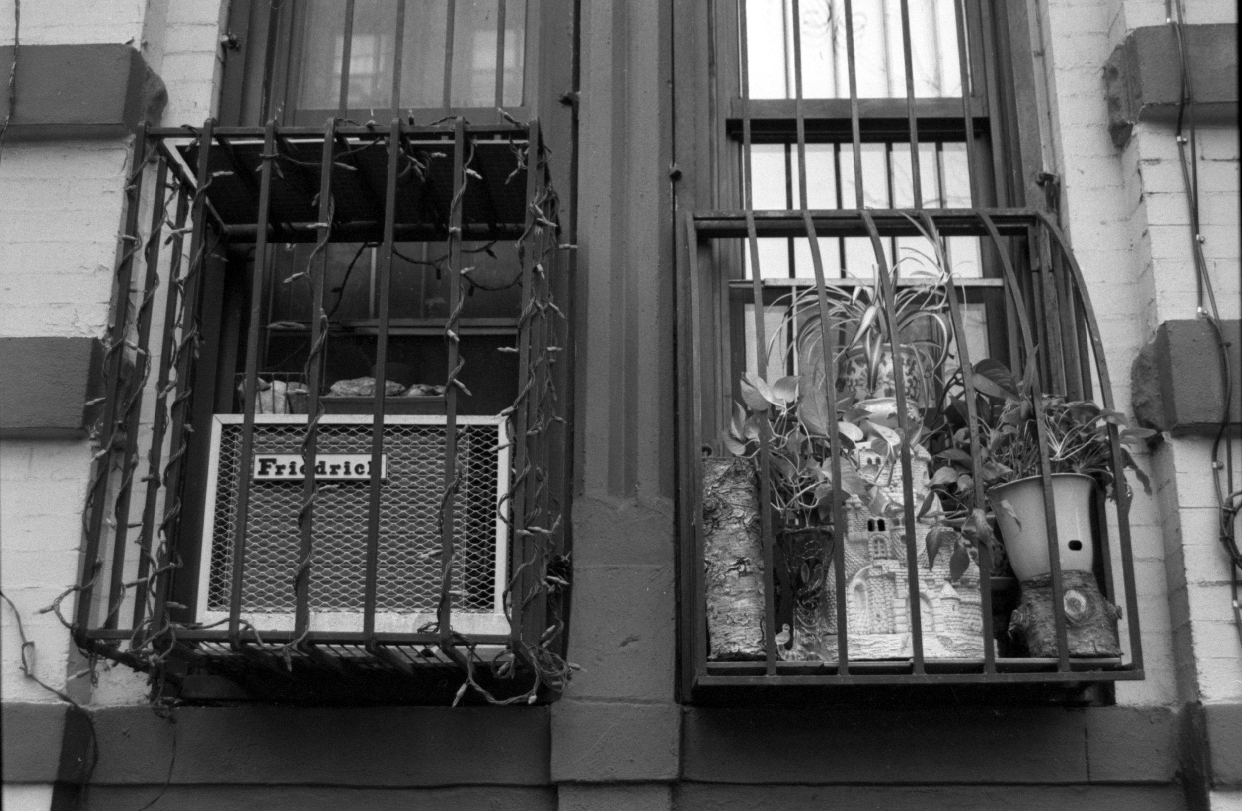 East Village Window, New York NY