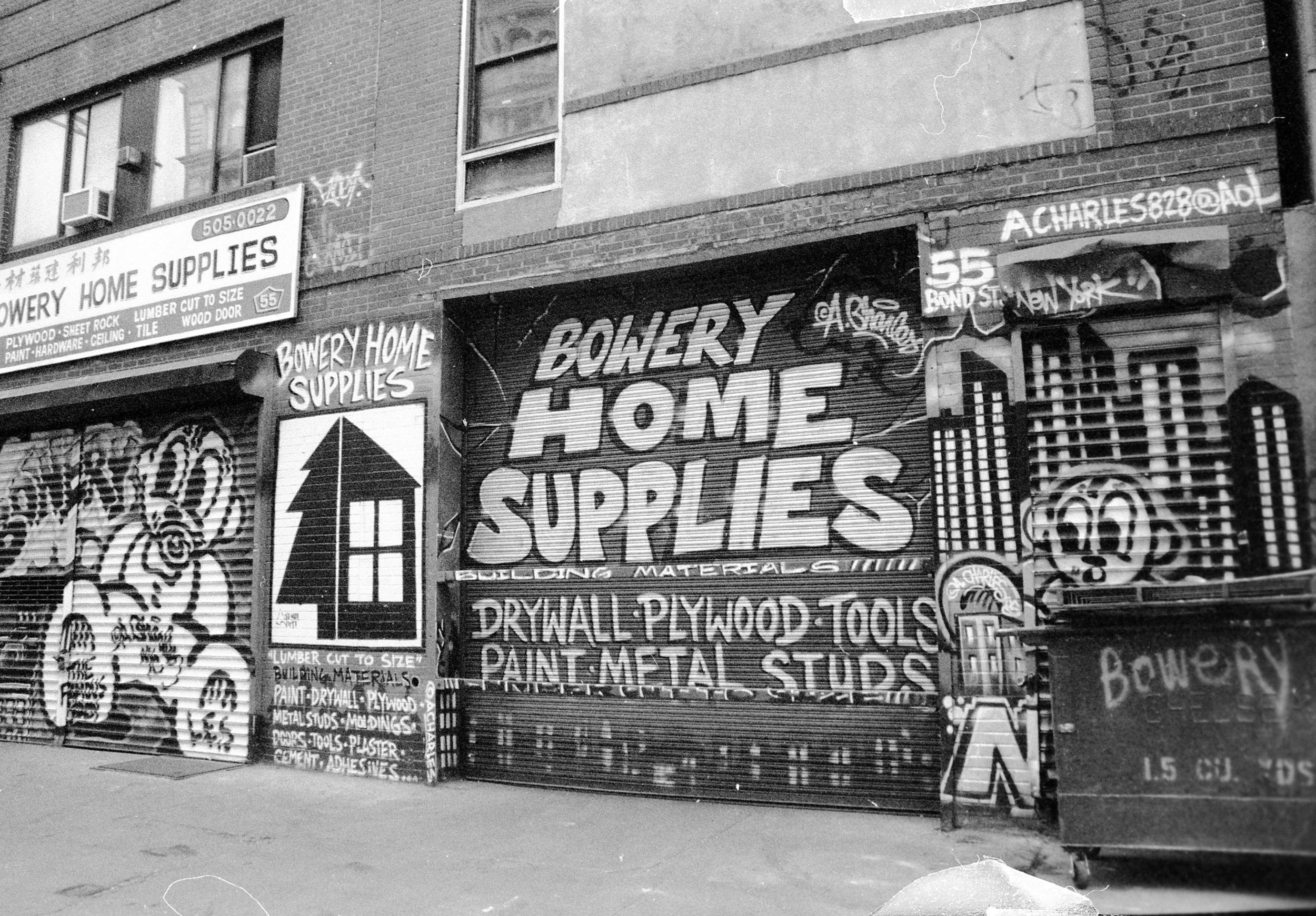 Bond Street, New York NY