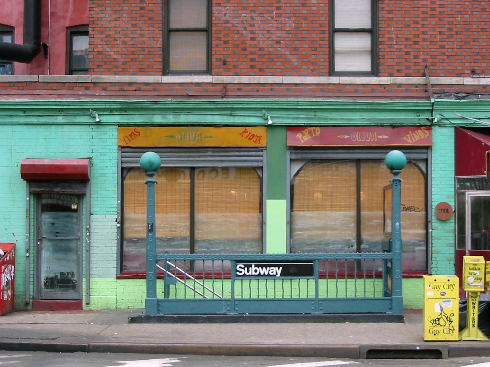 Allen Street Subway | New York NY