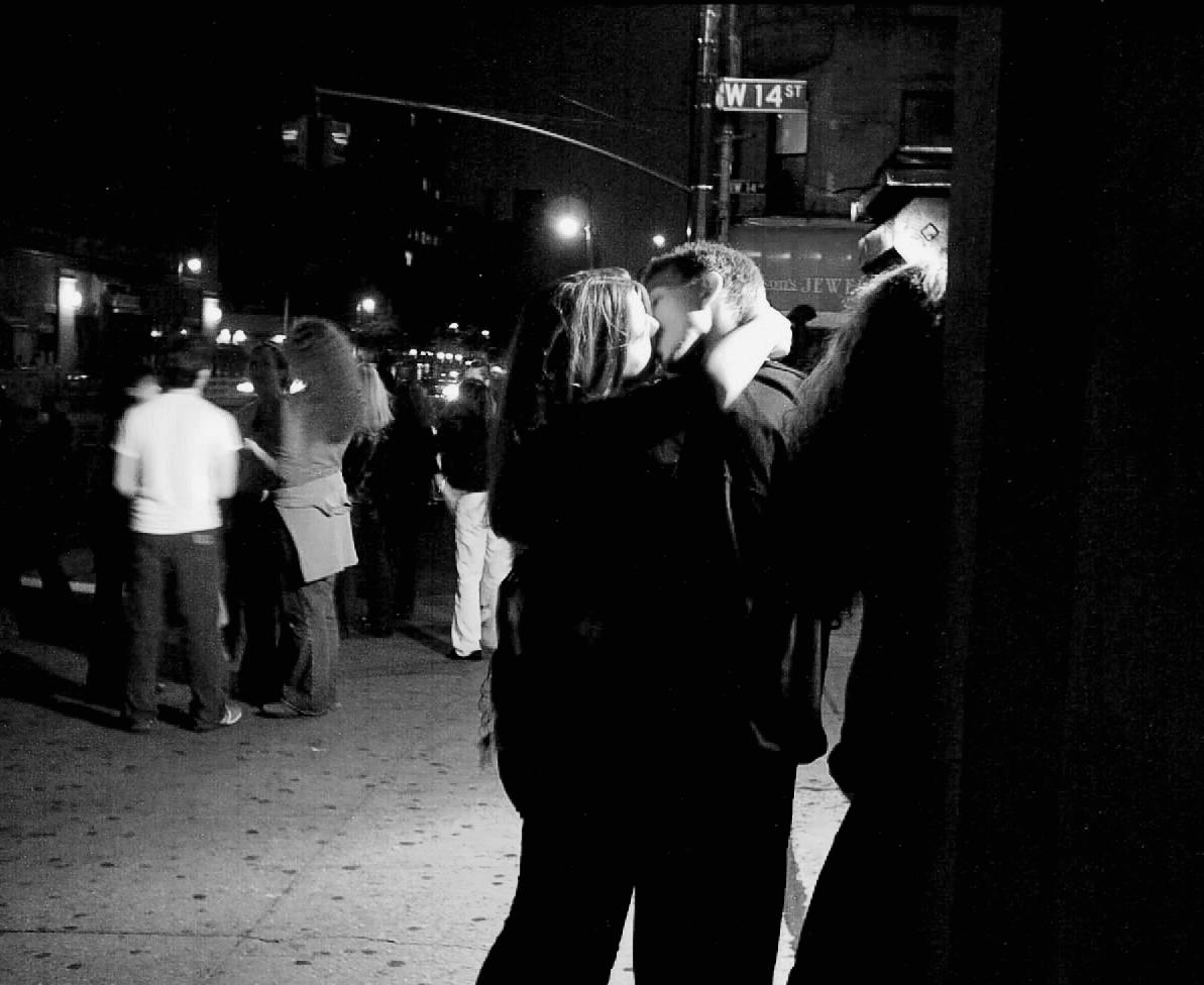 Friday Night Kiss | 14th & 6th Ave, New York NY