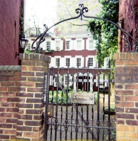 Private Court | Barrow Street, New York City