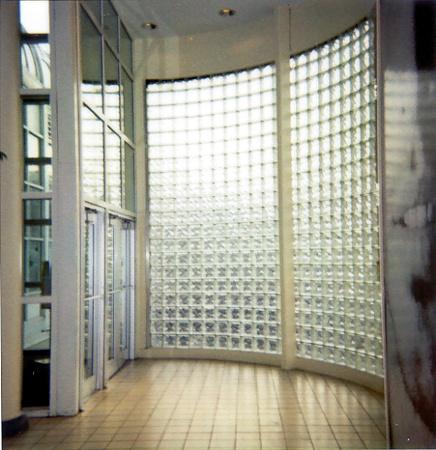 Curved Glass Block | Newport Pavionia Mall, Jersey City, New Jersey