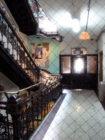 Second or Third Floor Stairwell | Chelsea Hotel, New York NY