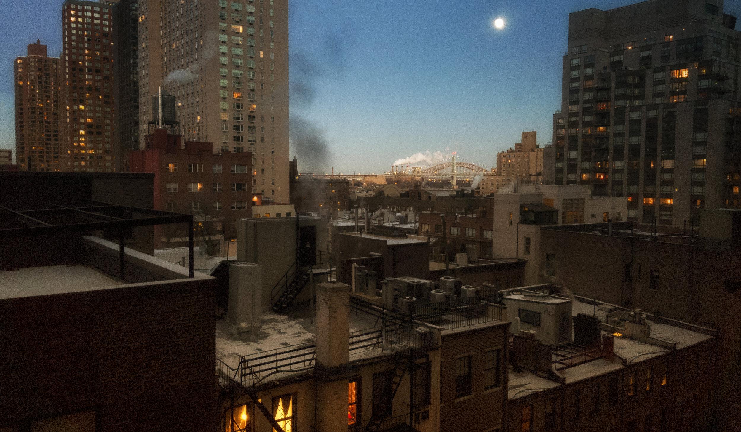 Full Moon Over Hell Gate