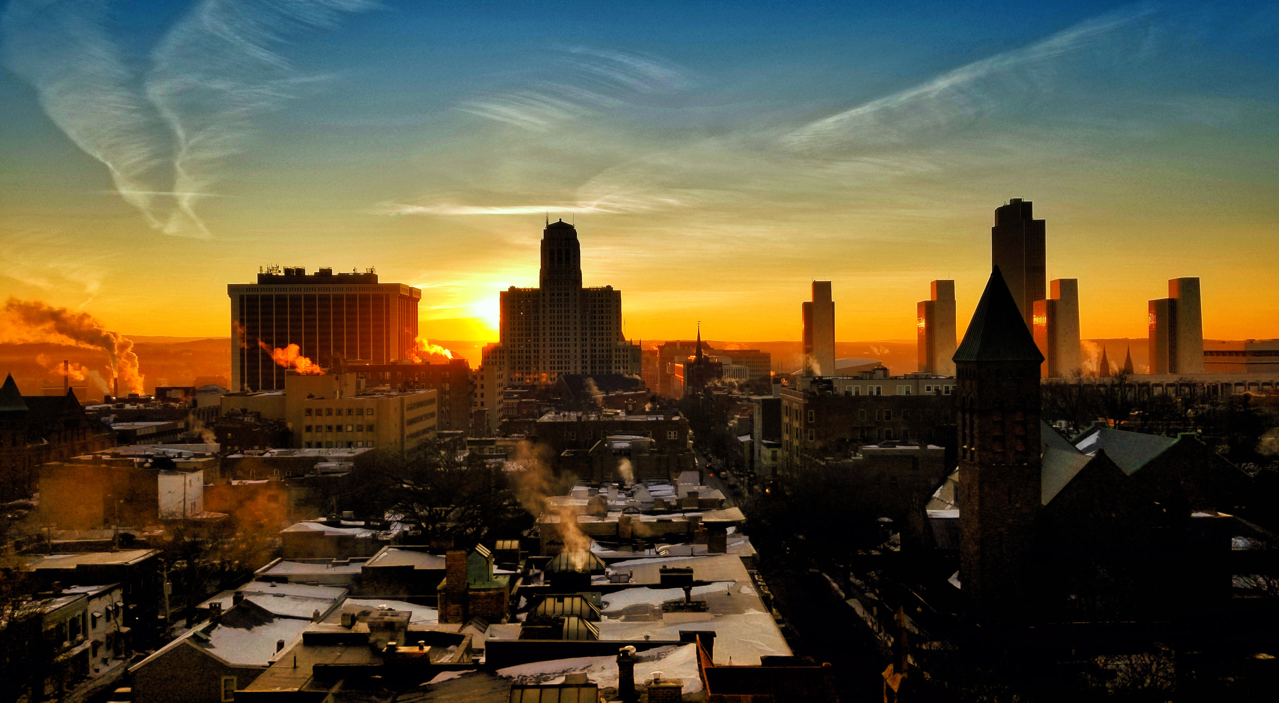 Sunrise Over Albany