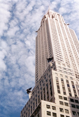 One Spring Morning in Midtown | The Chrysler Building, 42nd Street