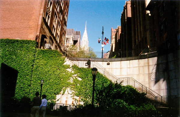 View of the Chrysler Building | United Nations Plaza, New York NY