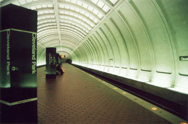 Subway Station | Cleveland Park | Washington, DC