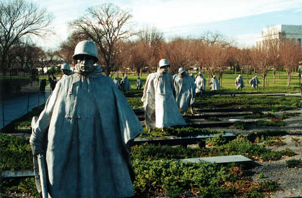 The Korean War Veterans Memorial | Washington DC