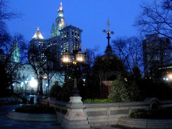 City Hall Park | Broadway & Park Row
