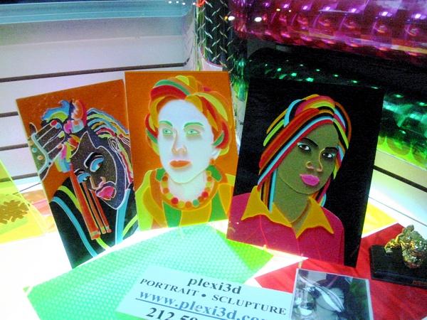 Plexiglas Portraits | Chinatown