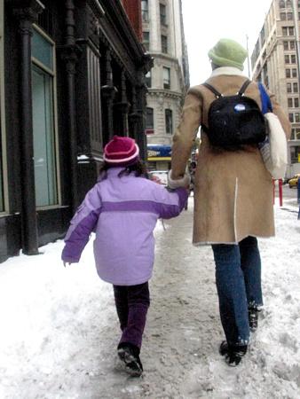 School Day Snow | Broadway