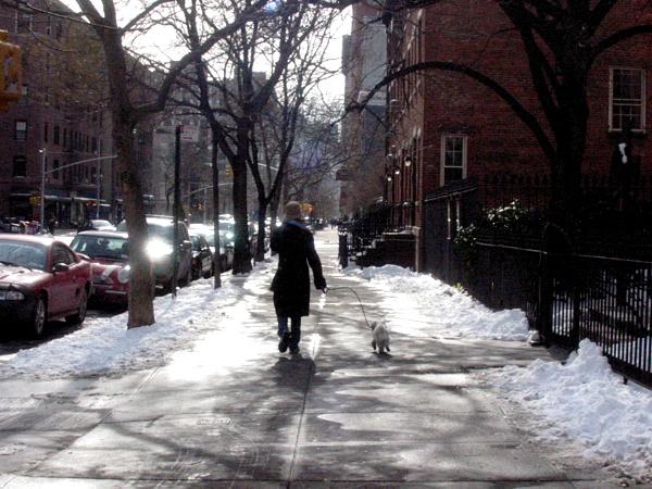 Saturday Morning in Greenwich Village | Hudson Street
