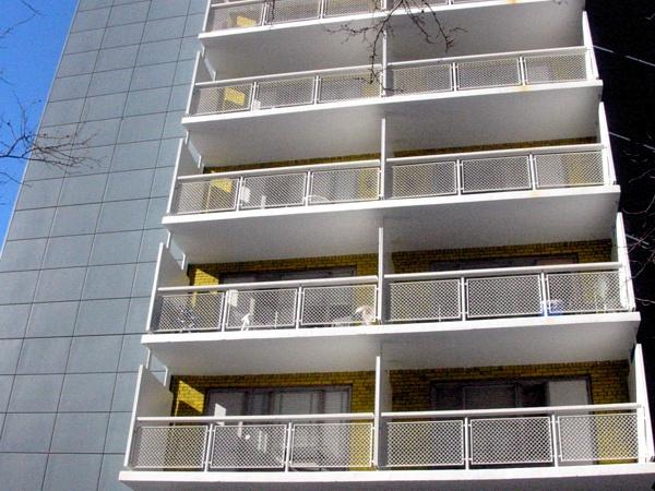 Yellow Balconies | Mercer near W. 3rd