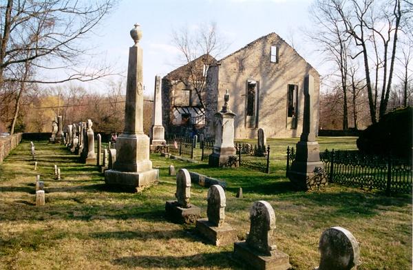 Bethlehem Graveyard   Western New Jersey near the PA border