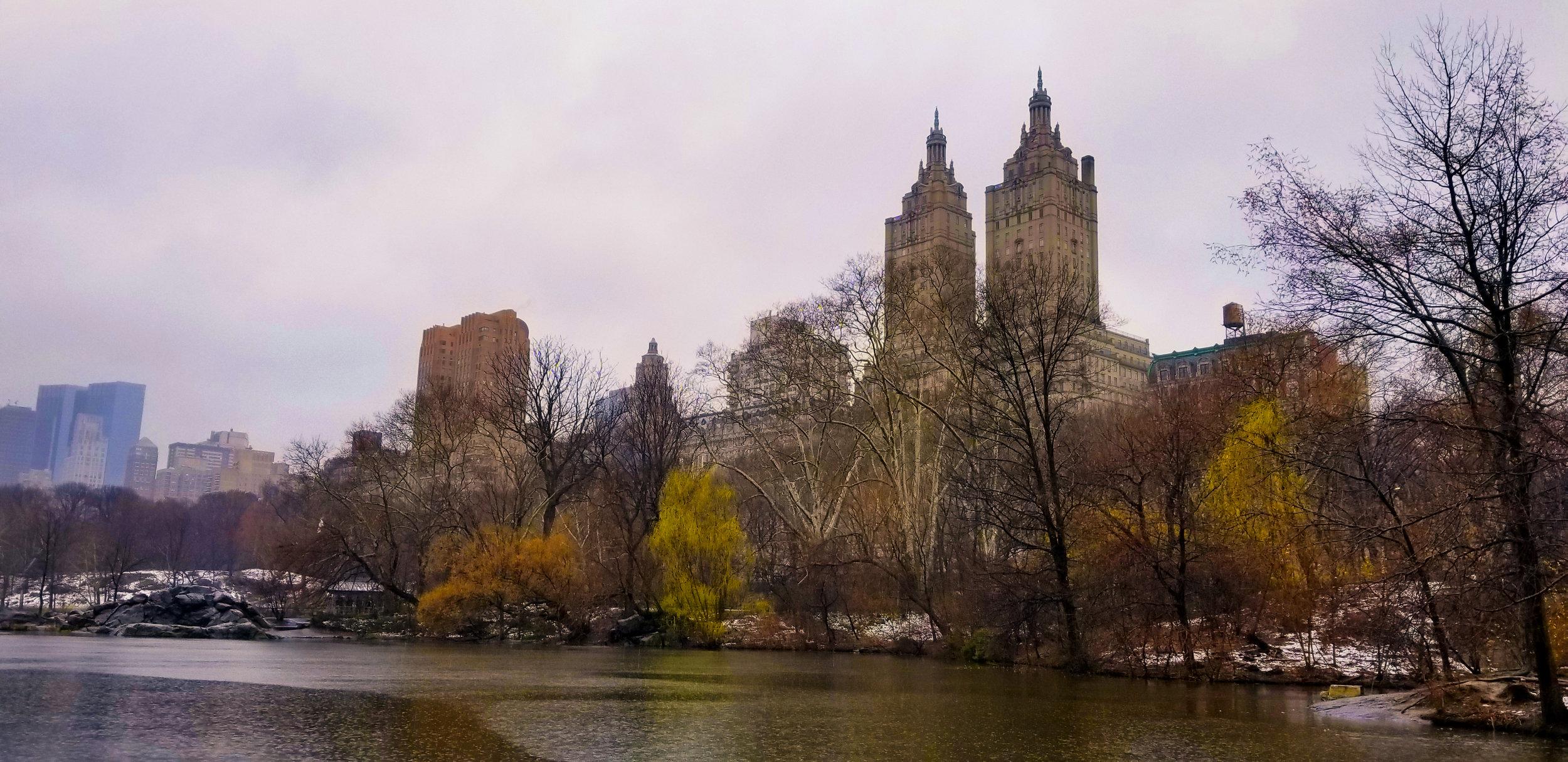 Rainy Day in Central Park | New York NY