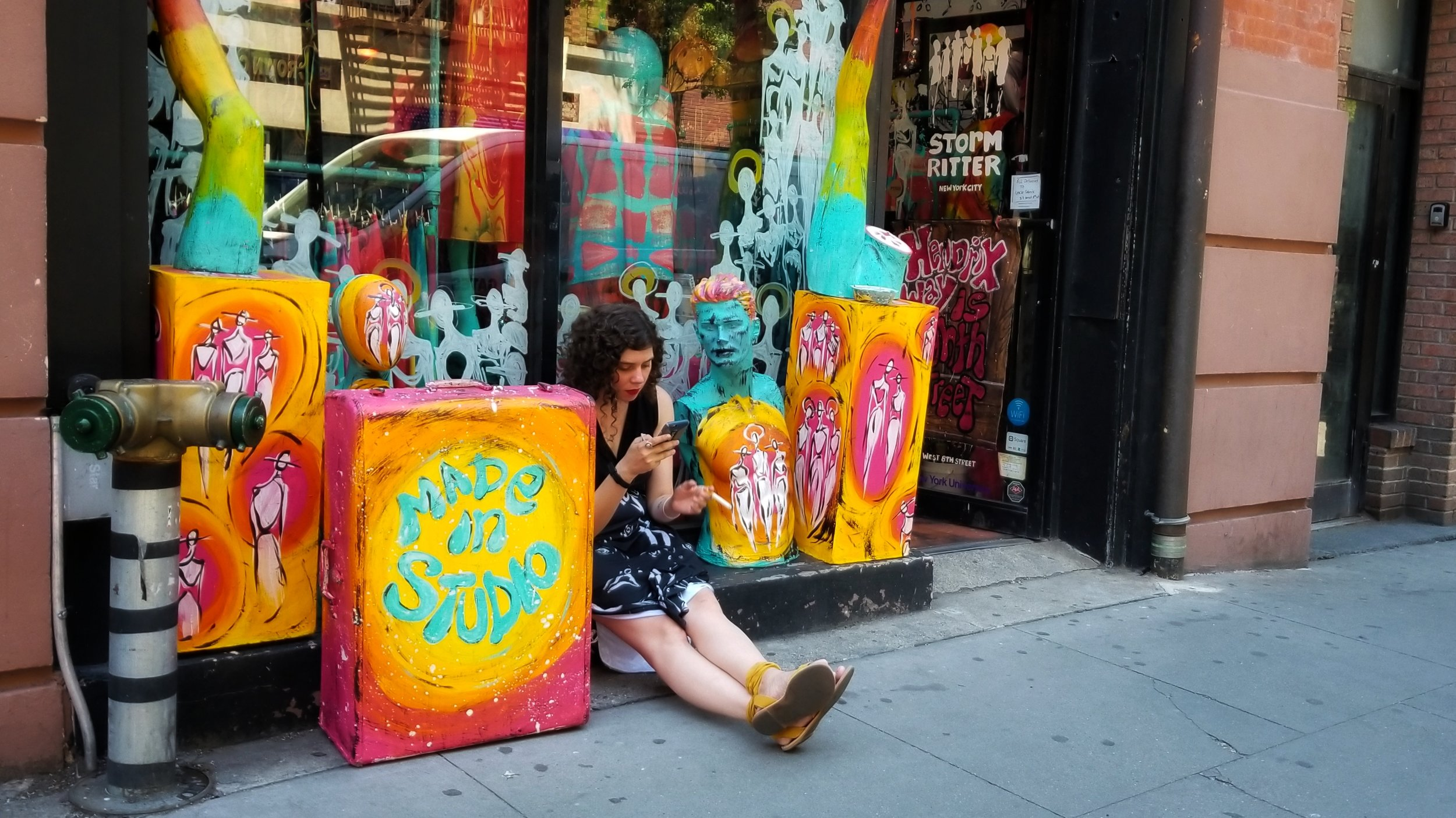 Summer Job | 8th Street, New York, NY