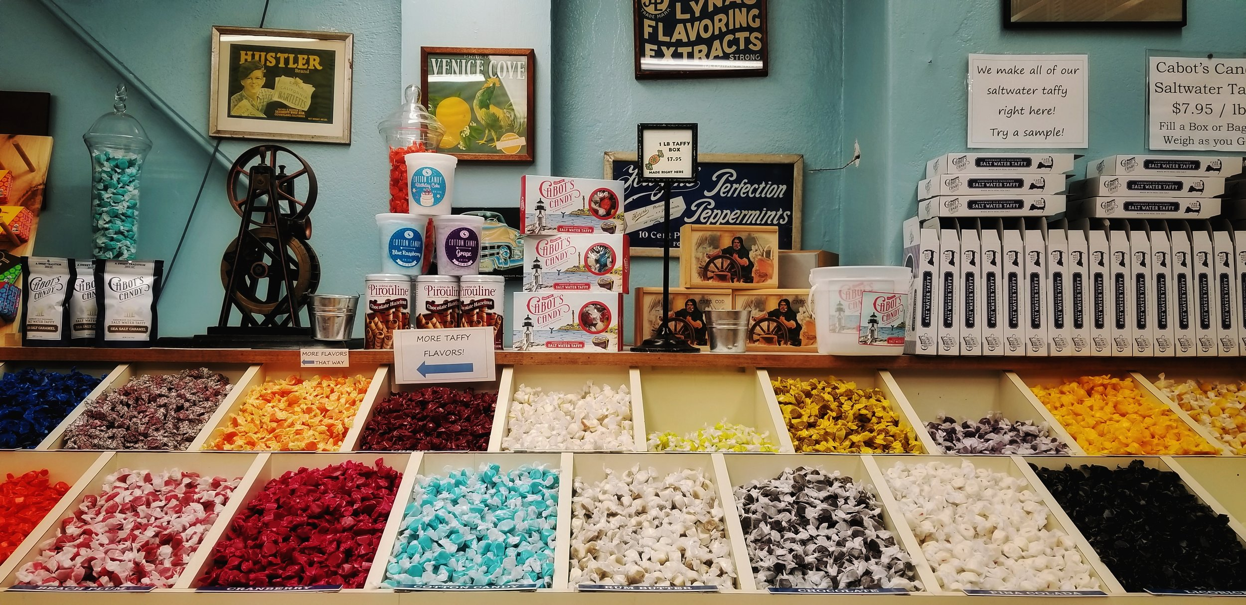 Taffy | Cabot's Candy, Provincetown, MA