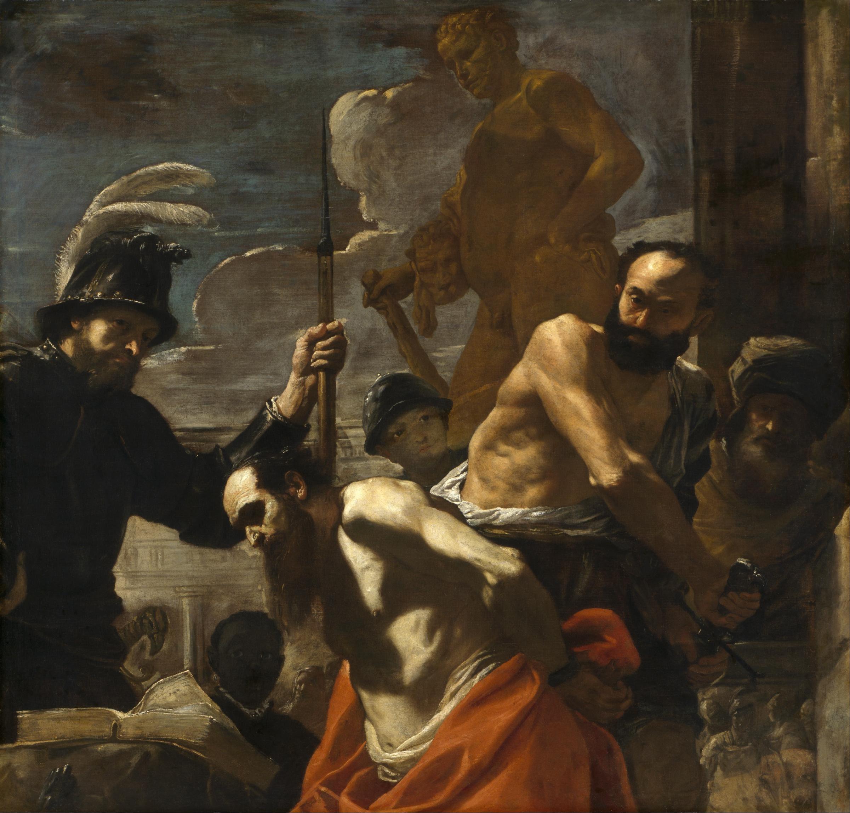Mattia Preti, The Martyrdom of Saint Paul , c. 1656-59