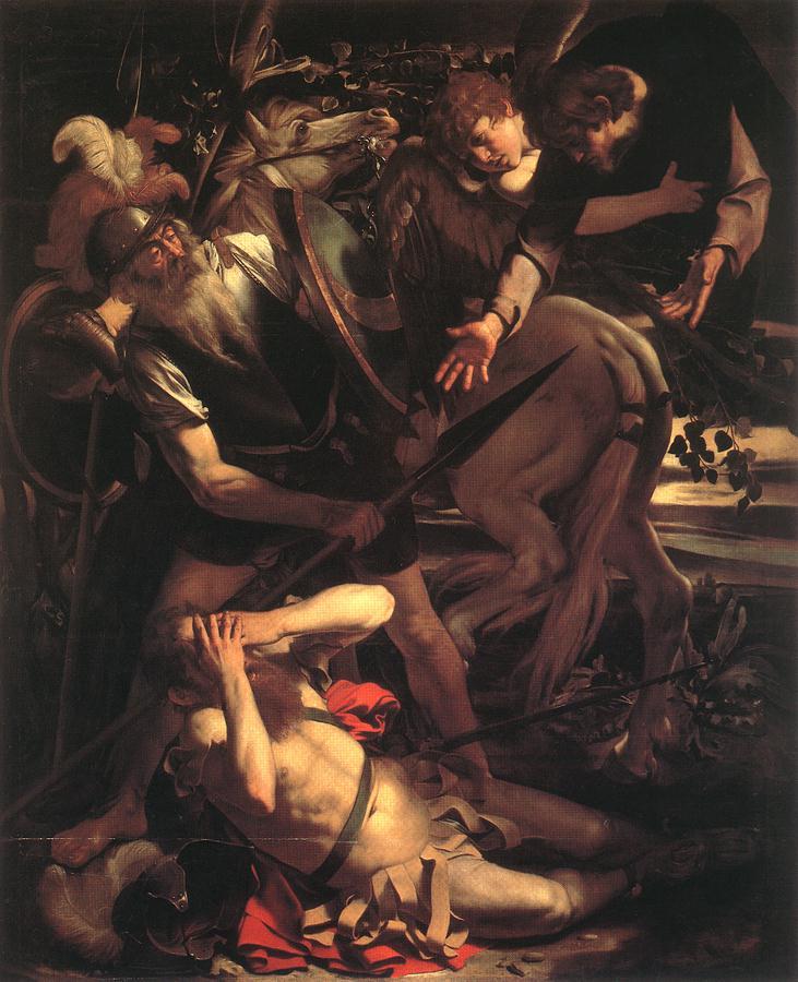 Michelangelo Merisi da Caravaggio,  The Conversion of St. Paul , 1600