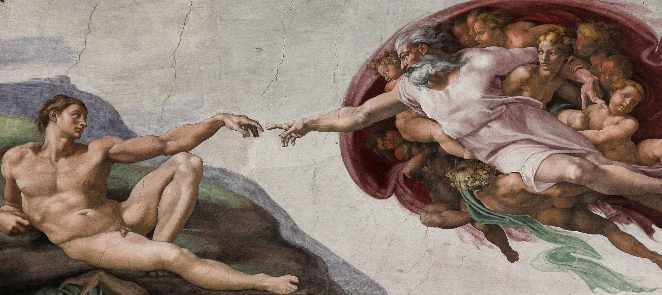 Michelangelo,  The Creation of Adam , 1512